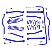 For Jeep Wrangler Jk 18 4 X 4 Non-adjustable Front And Rear Complete Lift Kit