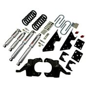 For Chevy C10 1975-1986 Belltech 707sp 4 X 6 Front And Rear Lowering Kit
