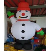 3 Meters Outdoor Christmas Inflatable Snowman For Christmas Decoration