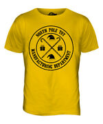 North Pole Toy Manufacturing Department Mens T-shirt Tee Top Gift