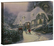 Thomas Kinkade Holiday Collection Ii 10x14 Gallery Wrapped Canvas Choice Of 4