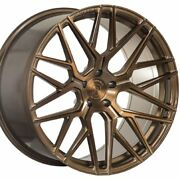 20 Staggered Rohana Rfx10 20x9 20x10.5 Bronze Concave Wheels Rims Forged