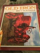 Old Iron Farm And Ranch Living 2001 Collectible Calender