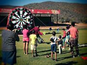 10ft 16.5ft H Giant Inflatable Soccer Dart Game Inflatable Football Dartboards