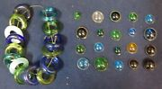 Vintage Studios Favrile Glass Rings 15 And Jewels 150