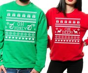 Ugly Christmas Sweater Funny Christmas Sweaters Couples Shirts Christmas Sweater