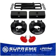 3 Front 1.5 Rear Lift Leveling Kit + Uca Bump Stops For 05-20 Nissan Frontier