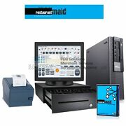 Restaurant Point Of Sale Complete System Restaurant Bar With Maid Software I3