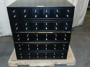 15 New Heavy Duty 6 Compartment Double Lock Personal Locker Vault Safe Boxes