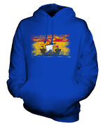 New Brunswick Distressed Flag Unisex Hoodie Top Gift Clothing Jersey