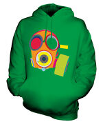 Vibrant Gas Mask Unisex Hoodie Top Gift Mask