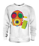 Vibrant Gas Mask Unisex Sweater Top Gift Mask
