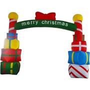 5x4mh New Style Christmas Inflatable Arch Airblown Outdoor Xmas Decor- No Lights