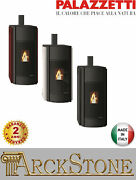 Pellet Stove Airy Hermetic Palazzetti Ecofire Julie 12 Us Power 12 Kw