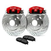 For Chevy Silverado 1500 99-14 Alumasport Drilled And Slotted Rear Brake System