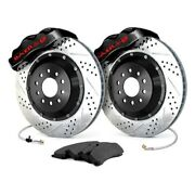 For Ford Mustang 05-14 Baer Pro Plus Drilled And Slotted Rear Brake System