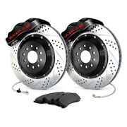 For Ford Mustang 05-14 Baer Pro Plus Drilled And Slotted Front Brake System