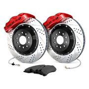 For Ford Mustang 65-69 Baer Pro Plus Drilled And Slotted Front Brake System