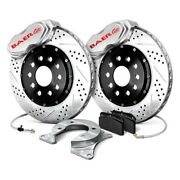 For Ford Mustang 65-66 Baer Ss4 Plus Drilled And Slotted Rear Brake System