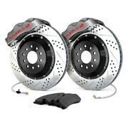 For Pontiac Grand Prix 73-77 Baer Pro Plus Drilled And Slotted Rear Brake System