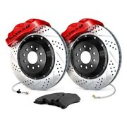 For Pontiac G8 08-09 Baer 4301366r Pro Plus Drilled And Slotted Front Brake System