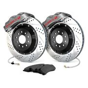 For Pontiac G8 08-09 Baer 4301366s Pro Plus Drilled And Slotted Front Brake System