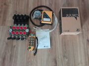 Hydraulic Valve 4 Section Valves 120 L/min 24 V Radio 3/4and039and039 Port Telly Handler