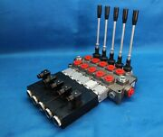 Monoblock Directional Control Valve Galtech 5 Sections Flow 120 L/min 12v 3/4and039and039