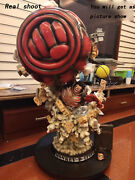 Lbs Gear Fourth Monkey D. Luffy Gk Super Large Statue Painted Model Sculpture