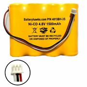 132-512003 Kaba Ilco Unican 132512003 Ni-cd Battery Pack Replacement