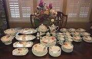Villeroy And Boch 1748 Amapola China Place Settings Host And Completer Set 61