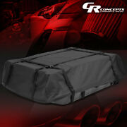Car/suv Roof Top Rack Storage Bag Travel Luggage W/abs Base Water/dirt Resistant
