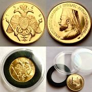 Rare 1966 Republic Of Cyprus Archbishop Makarios Full 22ct Gold Sovereign 8.01g