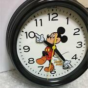 Disney Mickey Mouse Hands Wall Clock Watch Niko And... 90th Anniversary Le 2018
