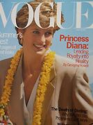 Vogue Magazine May 1993 Princess Diana Excellent Condition Like New