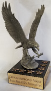 Cia Do Ncs Special Ops Paramilitary Eagle Base Oga Afghanistan Pewter Statue