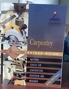 Carpentry Level 1 Trainee Guide 2001 Revision, Perfect Bound By Nccer