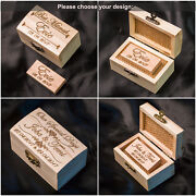 Wooden Usb Stick 2.0 3.0 8gb-128gb Personalised Engraved+box Wedding Pen Drive