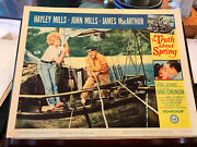 The Truth About Spring 1965 Universal Lobby Card Hayley Mills John Mills