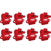 Msd 82858 Pro Power Coils For Gm Ls1/ls6 Engines, 8-pack
