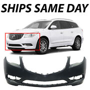 New Primered - Front Bumper Cover Replacement For 2013-2017 Buick Enclave 13-17