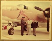 Rare Air Force Photograph Of Bomber Luscious Lucille Nose Art Gunner Wwii Ww2