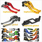 7 Style Levers For Kymco Xciting 250 / 300 / 400 / 500 Landr Front Rear Brake Cnc