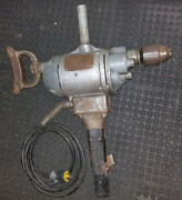 Millers Falls 2 Hand Electric Power Drill 658b 115v 5/8 Capacity 6/5 Amp Antique