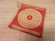 Vintage Daisy Toy Air Rifle Target Pack - 15 - 4 1/2