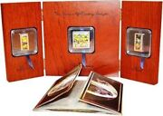 Cook Islands 2011 Hieronymus Bosch Earthly Delights 3 Silver Coin Set Triptych