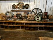 24 Piece Collection Wooden Factory Foundry Molds Industrial