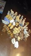 Wade Rose Tea Figurines Lot Of 37 Some Are Rare
