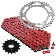 Red Drive Chain And Sprocket Kit For Honda Cbr600rr 2003-2006 525-chain