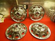 4 Used 66 Ford Fairlane 500 14 Wheelcovers C6oz-1130-c